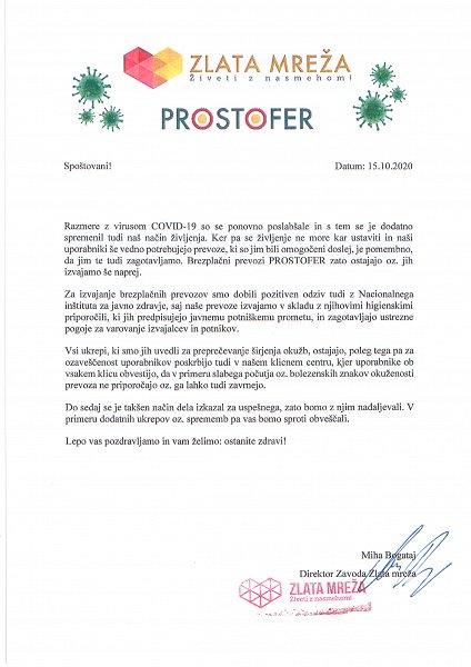 Prostofer dopis
